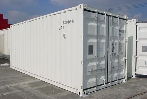 neue Isoliercontainer 20 Fuss Isolierung mittels 100 mm Rockwool - Innenauskleidung mit galvanisiertem Stahlblech