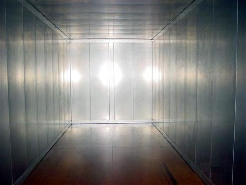 Neue Isoliercontainer Isolierung mittels 100 mm Rockwool - Innenauskleidung mit galvanisiertem Stahlblech - 20 Fuss Ausführung