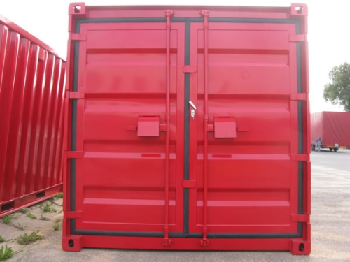 neue Lagercontainer Materialcontainer mit Einbruchsicherung Diebstahlschutz