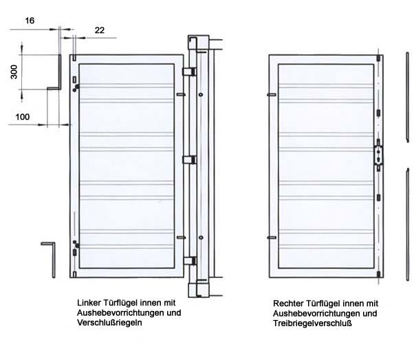 Lagercontainer mit Diebstahlschutz Materialcontainer mit Einbruchsicherung